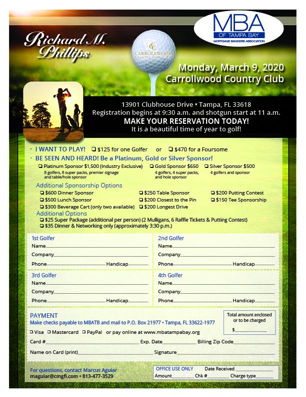 MBT.FL.0120 Golf Tournament Flyer 2020